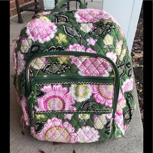 Vera Bradley Backpack, Book bag.